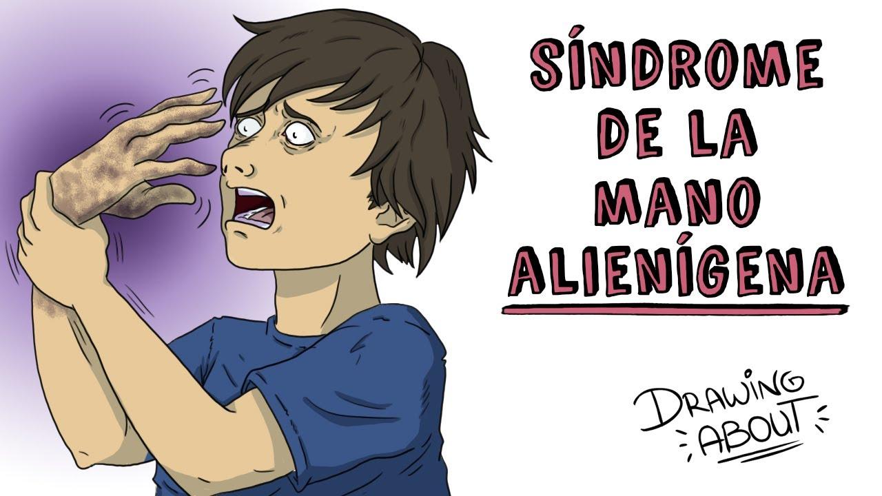 EL SÍNDROME DE LA MANO ALIENÍGENA | Draw My Life