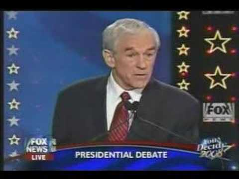Great Ron Paul Moment!
