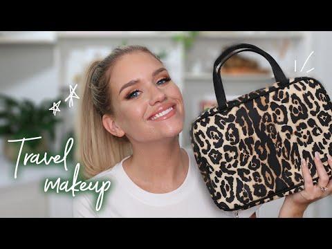 MAKEUP I'M PACKING FOR MY TRIP | Samantha Ravndahl thumbnail