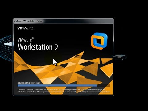 How To Install VMware Workstation 9