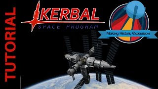 Building the Mir Space Station - Launch of Spektr: Kerbal Space Program Making History