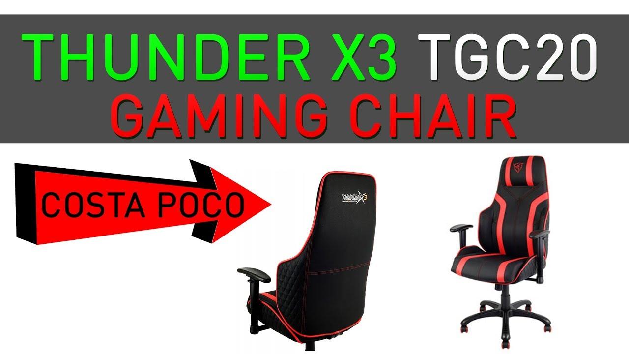 Poltrona Da Gaming.Thunder X3 Tgc20 Poltrona Da Gaming Economica
