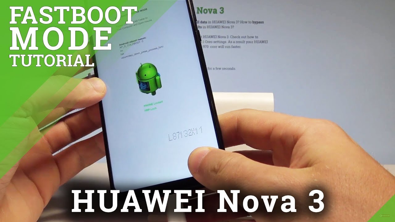 How to Enter Fastboot & Rescue Mode on HUAWEI Nova 3 - Quit Fastboot Mode