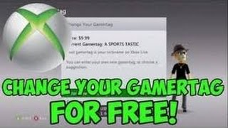 [UPDATED] How to Change your Xbox Live Gamertag for FREE!September 2015