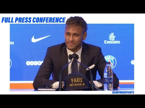 Paris St-Germain Unveil £200m World Record Signing Neymar - FULL Press Conference