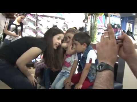 IL Germoglio - Дети из приграничного села Мовсес, Тавуш, в гостях в Ереване