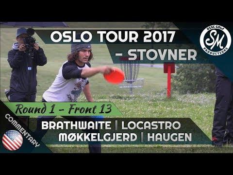 Oslo Tour 2017 | Stovner Round 1 Front 13 | Brathwaite, Locastro, Møkkelgjerd, Haugen *English*