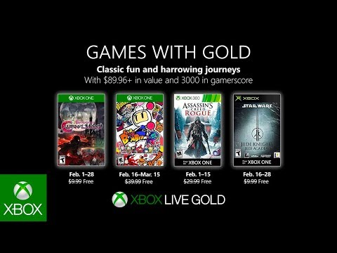Xbox Games With Gold February 2019 Lineup Review