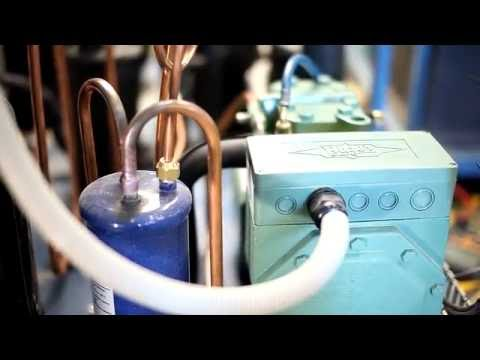 видео: Холодильная камера минус -70