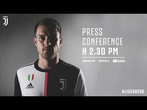 LIVE | Aaron Ramsey's first press conference as a Bianconero