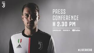Download Video LIVE | Aaron Ramsey's first press conference as a Bianconero MP3 3GP MP4