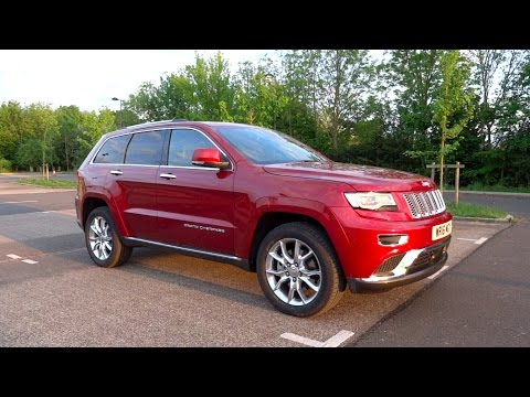 2016 Jeep Grand Cherokee 3.0 V6 CRD Summit Start-Up and Full Vehicle Tour