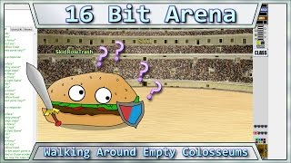Lets Try Games - 16 BIT ARENA - Walking Around Empty Colosseums