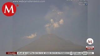 Vuelve a explotar el Popocatépetl