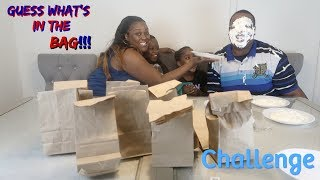 GUESS WHAT'S IN THE BAG CHALLENGE (VERY FUNNY)