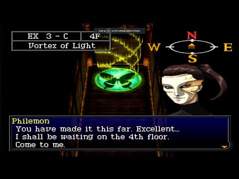 Persona 2 Eternal Punishment Ex Dungeon SCENES
