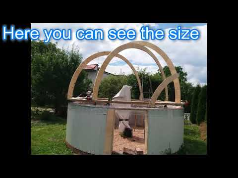 I Build An Diy Plywood Observatory Dome Youtube