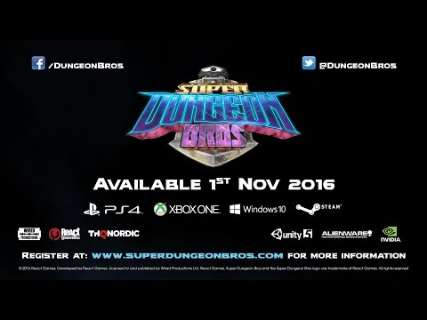Super Dungeon Bros Launch Date Announcement | All Platforms | ESRB