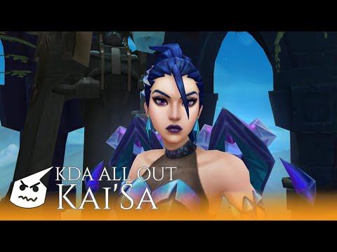 K/DA ALL OUT Kai'Sa.face