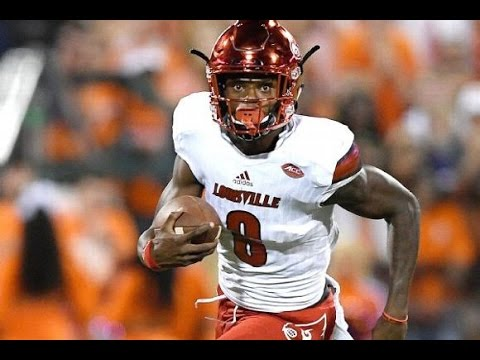 Lamar Jackson (Louisville) vs. Clemson (2016)