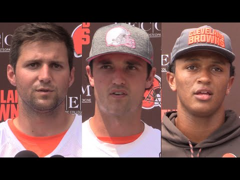 Who will be the Browns starting quarterback?