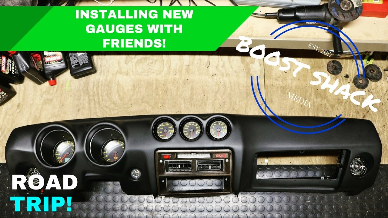 hight resolution of installing gauges and dash rb25 280z part 2