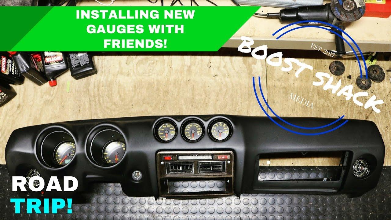 installing gauges and dash rb25 280z part 2 [ 1280 x 720 Pixel ]