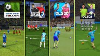 DLS Classic To DLS 21   Free Kick Evolution   Dream League Soccer 2021