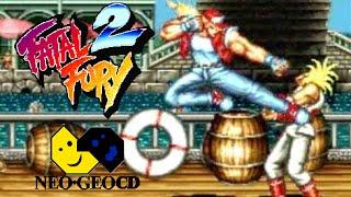 Fatal Fury 2 playthrough (Neo Geo CD)