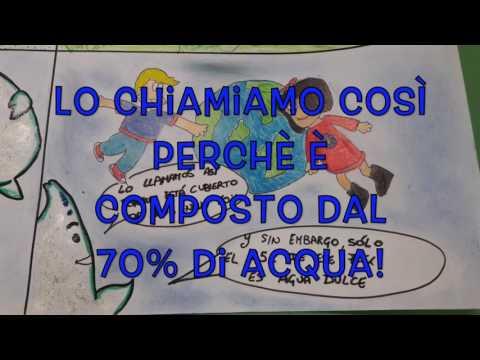 """Fumetto in Lingua Spagnola - Progetto Acqua - 1^A Scuola Media """"Rosso"""" CL"""