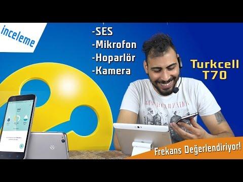 Turkcell T70'in Ses Mikrofon ve Kamera Performansı