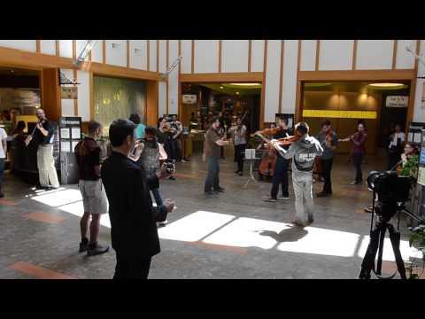 CU-Boulder Classical Music Flash Mob