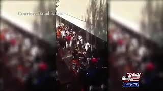 Lil Pump School and SmokePurrp Riot Fight Video | 9 students arrested Burbank High School