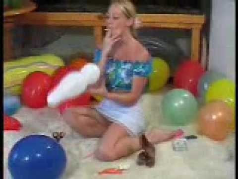 Baloon fetish
