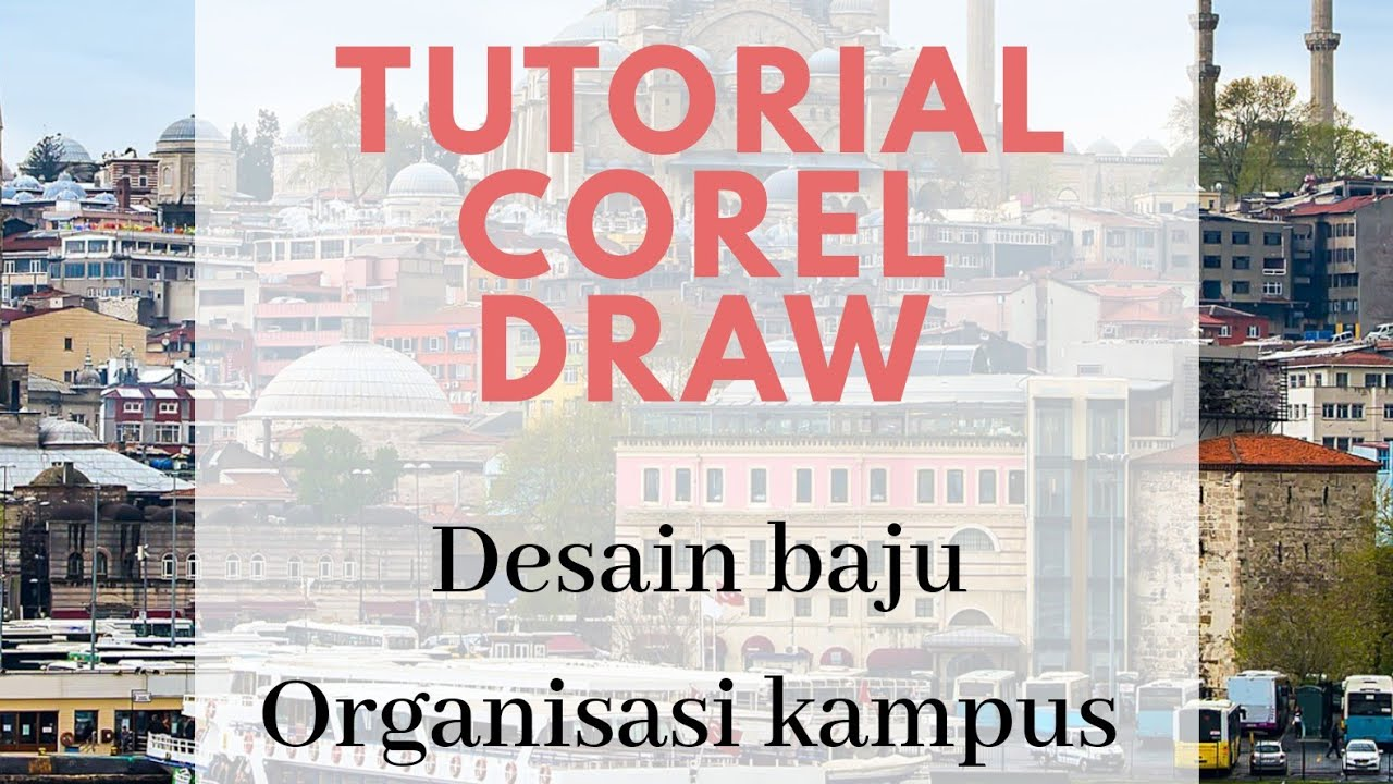 Tutorial Desain Baju Pdh Corel Draw Terbaru 2018 Youtube