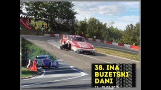 Hill Climb Buzet 2019 - Crash and Action