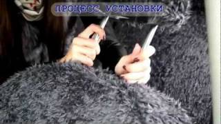 видео Модельные чехлы на HONDA CR-V 2006-2011гг.