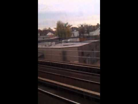 Train ride from Jamaica to Penn Station on an M3 set