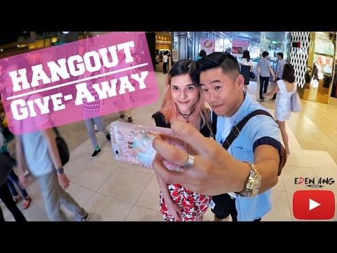 Hangouts & Give-Aways | Eden Ang