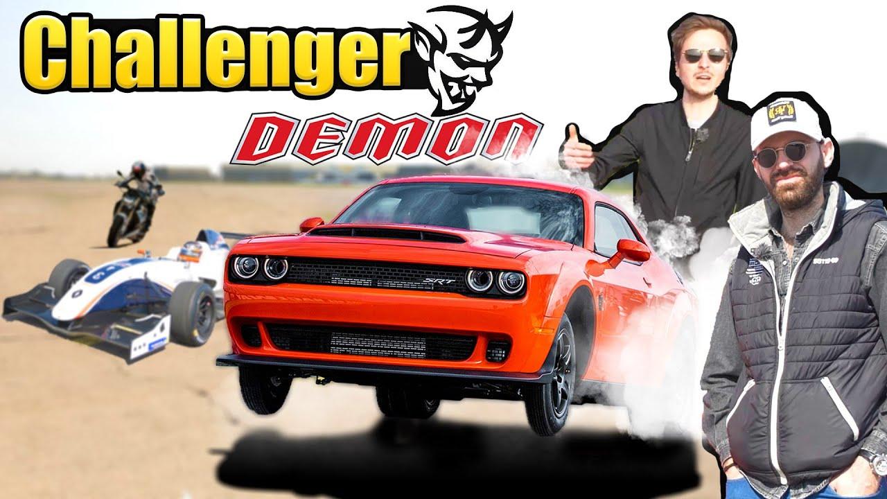 Essai Dodge Challenger DÉMON 808ch : Sortez l'eau bénite