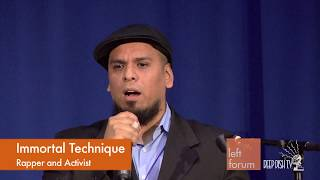 Left Forum 2016 - IMMORTAL TECHNIQUE - Black Liberation & the Sanders Groundswell: Prospects...