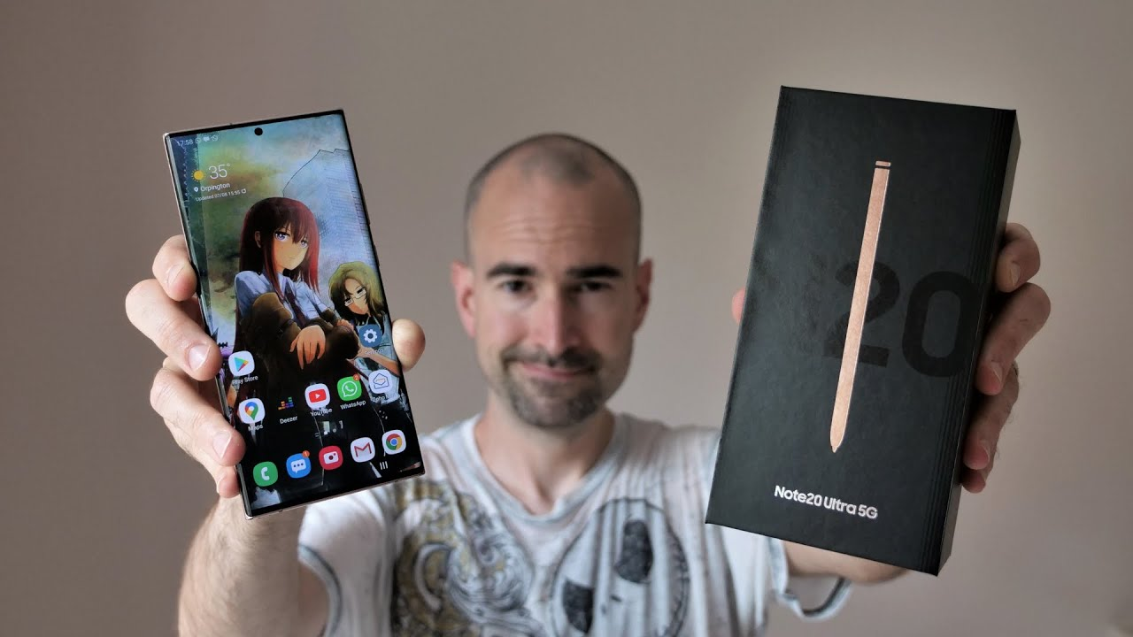 Samsung Galaxy Note 20 Ultra | Unboxing & Full Tour - YouTube