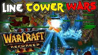 Warcraft Reforged Line Tower Wars #6
