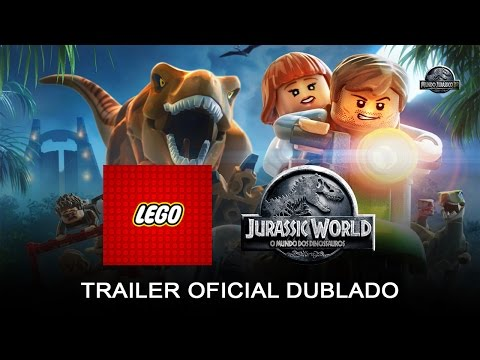 LEGO Jurassic World Game - Trailer Oficial (dublado) (HD)