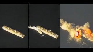 Misión cumplida: Flota del Pacifico rusa destruye un buque enemigo simulado