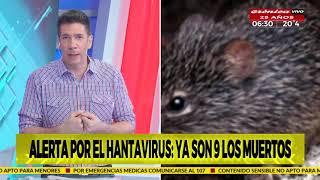Alerta por el hantavirus en Epuyén: Ya son nueve los muertos