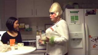 Microwave Cinnamon Walnut Brittle : Trailer Park Cooking Show