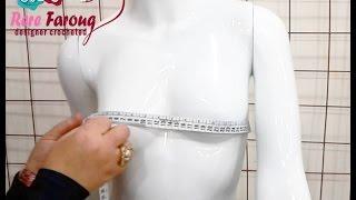 كيفيه اخذ مقاسات الجسم بطريقه صحيحه |  قناة  خيط وإبرة  | HOW TO TAKE THE BODY MEASUREMENTS