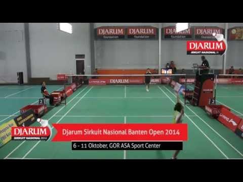 Ana Rovita (PB. Djarum Kudus) VS Elizabeth Purwaningtyas (PB. SGS PLN Bandung)