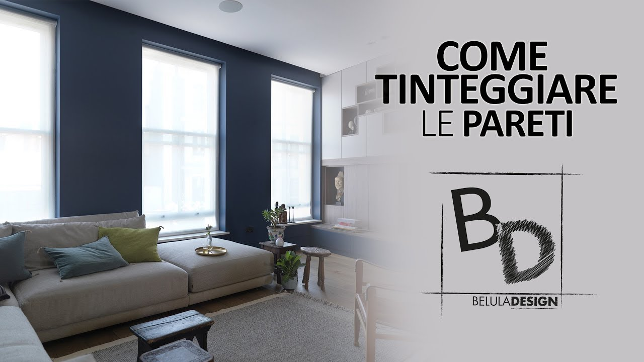 come tinteggiare le pareti di casa belula design youtube